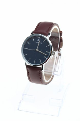 Часовник Vicomte A., Цвят Кафяв, Метал, естествена кожа, Цена 38,85лв.