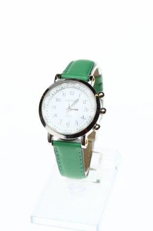 Ceas Yema, Culoare Verde, Piele naturală, metal, Preț 321,71 Lei