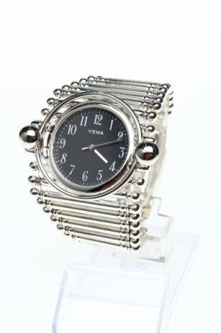 Часовник Yema, Цвят Сив, Метал, Цена 88,02лв.