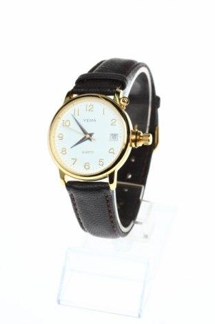 Ρολόι Yema, Χρώμα Καφέ, Γνήσιο δέρμα, μέταλλο, Τιμή 63,02€