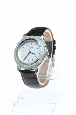 Часовник Yema, Цвят Сив, Естествена кожа, метал, Цена 97,80лв.