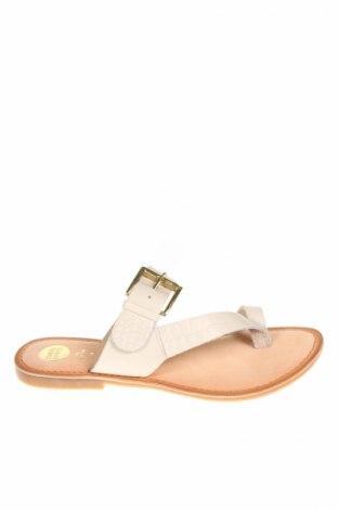 Papuci de casă Gioseppo, Mărime 38, Culoare Ecru, Piele naturală, Preț 111,32 Lei