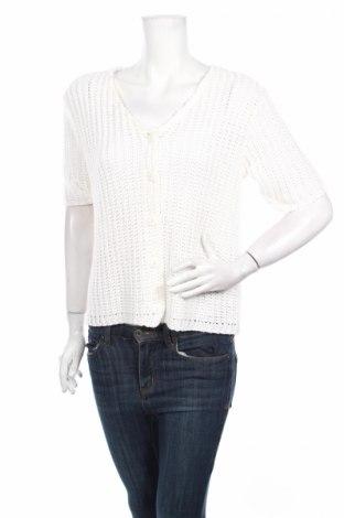 Γυναικεία ζακέτα Miss Etam, Μέγεθος M, Χρώμα Λευκό, Ακρυλικό, Τιμή 3,39€