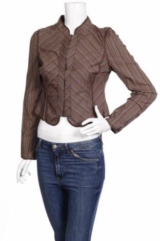 Дамска риза BCBG Max Azria, Размер M, Цвят Кафяв, 97% памук, 3% еластан, Цена 44,75лв.