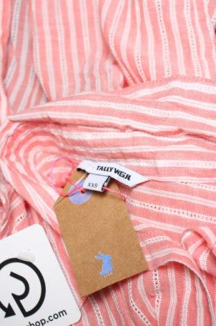 Дамска риза Tally Weijl, Размер XXS, Цвят Розов, Памук, Цена 18,02лв.
