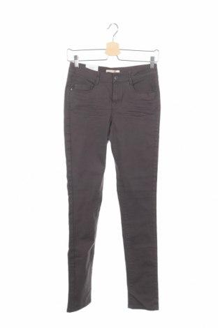 Дамски дънки Camaieu, Размер XS, Цвят Сив, 98% памук, 2% еластан, Цена 11,96лв.
