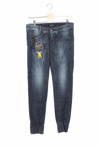 Дамски дънки Killah, Размер S, Цвят Син, 98% памук, 2% еластан, Цена 18,72лв.