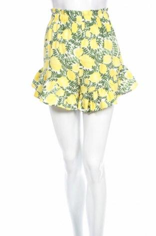 Дамски къс панталон Boohoo, Размер M, Цвят Многоцветен, Полиестер, Цена 19,72лв.
