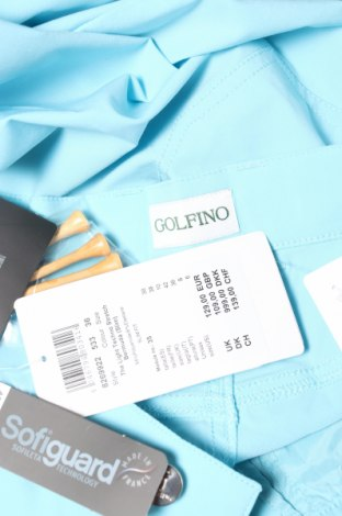 Γυναικείο κοντό παντελόνι Golfino, Μέγεθος S, Χρώμα Μπλέ, 94% πολυεστέρας, 6% ελαστάνη, Τιμή 25,18€