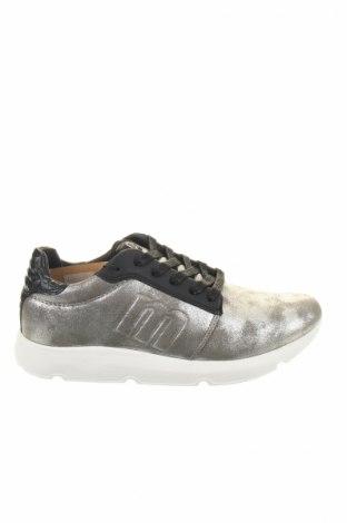 Γυναικεία παπούτσια Mtng, Μέγεθος 39, Χρώμα Ασημί, Δερματίνη, Τιμή 22,40€
