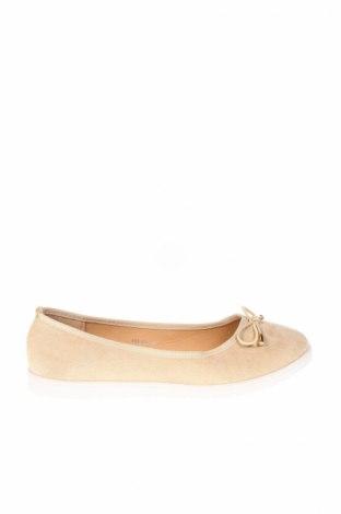Дамски обувки Sixth Sens, Размер 39, Цвят Бежов, Текстил, Цена 44,85лв.