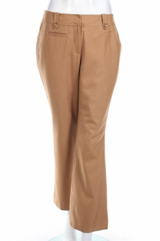 Дамски панталон Ann Taylor, Размер M, Цвят Бежов, 75% полиестер, 25% вискоза, Цена 12,36лв.