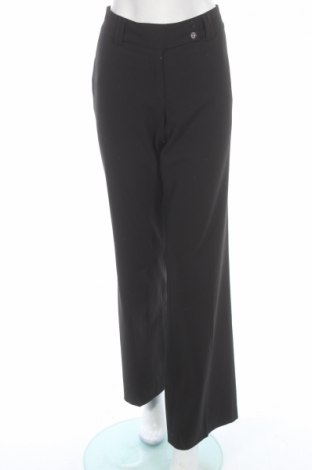 Дамски панталон BCBG Max Azria, Размер XL, Цвят Черен, 64% полиестер, 32% вискоза, 4% еластан, Цена 30,15лв.
