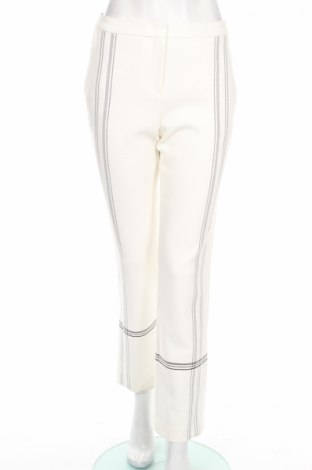Дамски панталон BCBG Max Azria, Размер S, Цвят Бял, 64% полиестер, 31% вискоза, 5% еластан, Цена 77,70лв.