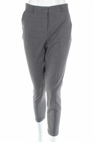 Дамски панталон Karen by Simonsen, Размер L, Цвят Сив, 53% полиестер, 43% вълна, 4% еластан, Цена 35,70лв.