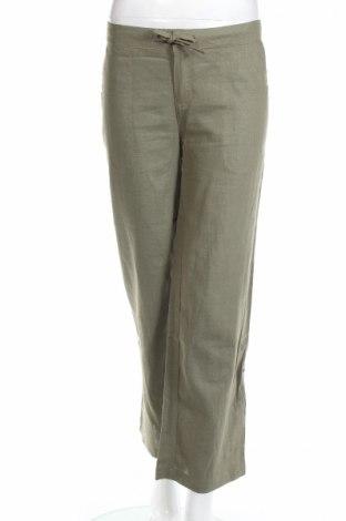 Дамски панталон Karl Marc John, Размер S, Цвят Зелен, 55% рамия, 45% вискоза, Цена 22,14лв.