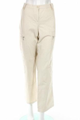 Γυναικείο παντελόνι Women's Selection, Μέγεθος L, Χρώμα  Μπέζ, Βαμβάκι, Τιμή 3,62€