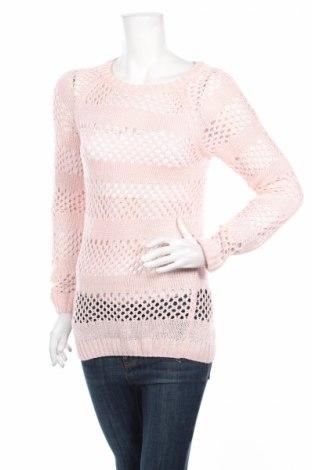 Дамски пуловер, Размер M, Цвят Розов, Цена 6,44лв.