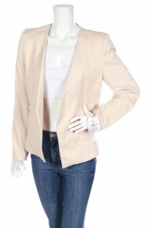 Дамско сако Reserved, Размер L, Цвят Бежов, 100% полиестер, Цена 20,70лв.