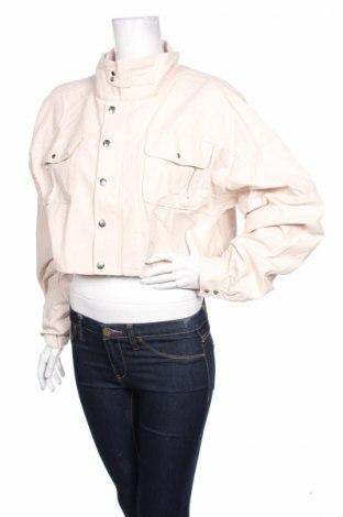 Дамско яке Pretty Little Thing, Размер XL, Цвят Бежов, Цена 15,87лв.