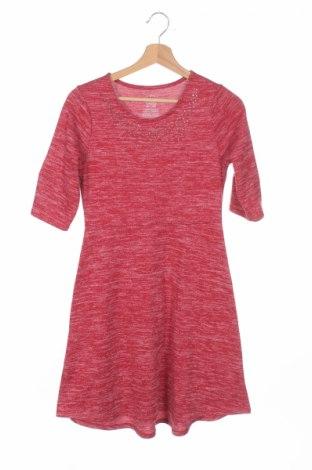 Детска рокля Faded Glory, Размер 14-15y/ 168-170 см, Цвят Червен, 96% полиестер, 4% еластан, Цена 5,75лв.