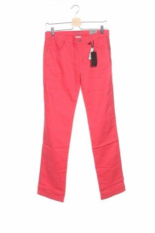 Детски дънки Cyrillus, Размер 15-18y/ 170-176 см, Цвят Червен, 98% памук, 2% еластан, Цена 3,52лв.