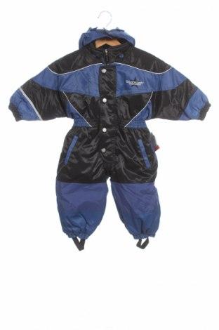 Παιδική σαλοπέτα για χειμερινά σπορ, Μέγεθος 18-24m/ 86-98 εκ., Χρώμα Μπλέ, Πολυεστέρας, Τιμή 28,14€