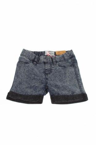 Pantaloni scurți de copii Lee Cooper, Mărime 5-6y/ 116-122 cm, Culoare Albastru, 67% bumbac, 31% poliester, 2% elastan, Preț 38,69 Lei