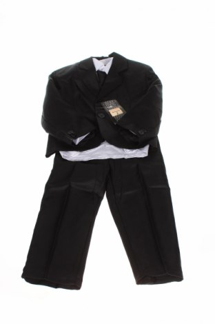 Детски костюм Les Voiliers, Размер 2-3y/ 98-104 см, Цвят Сив, 65% памук, 35% полиестер, Цена 59,25лв.