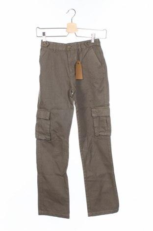 Детски панталон Gocco, Размер 11-12y/ 152-158 см, Цвят Зелен, Памук, Цена 11,00лв.