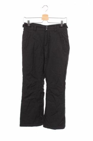 Dětské kalhoty pro zimní sporty  Athletech, Rozměr 10-11y/ 146-152 cm, Barva Černá, Polyester, Cena  640,00Kč