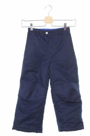 Детски панталон за зимни спортове Faded Glory, Размер 4-5y/ 110-116 см, Цвят Син, Полиестер, Цена 10,25лв.