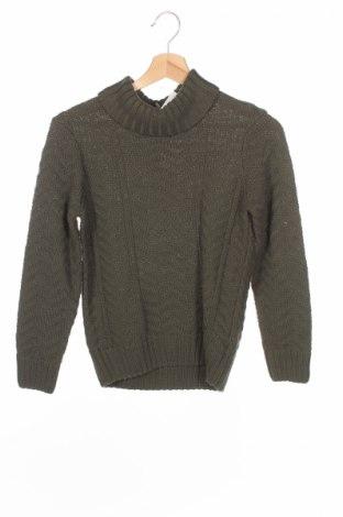 Детски пуловер Orchestra, Размер 8-9y/ 134-140 см, Цвят Зелен, 50% памук, 50% акрил, Цена 21,28лв.