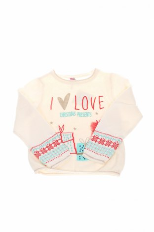 Детски пуловер Orchestra, Размер 6-7y/ 122-128 см, Цвят Екрю, 90% памук, 10% вълна, Цена 20,52лв.