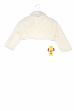 Детско болеро, Размер 10-11y/ 146-152 см, Цвят Бял, 65% памук, 35% полиестер, Цена 41,16лв.