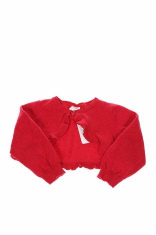 Παιδικό  μπολερό H&M, Μέγεθος 9-12m/ 74-80 εκ., Χρώμα Κόκκινο, Βαμβάκι, Τιμή 3,25€