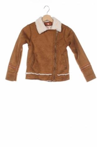 Детско яке La Compagnie des Petits, Размер 7-8y/ 128-134 см, Цвят Кафяв, Полиестер, Цена 71,20лв.