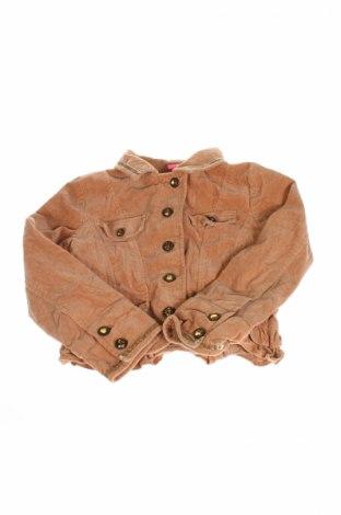 Детско яке Thalia Sodi, Размер 7-8y/ 128-134 см, Цвят Бежов, 98% памук, 2% еластан, Цена 7,00лв.