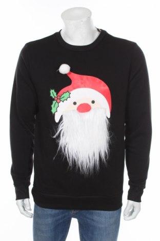 Pánské tričko  Sinsay, Rozměr L, Barva Černá, 80% polyester, 20% bavlna, Cena  652,00Kč