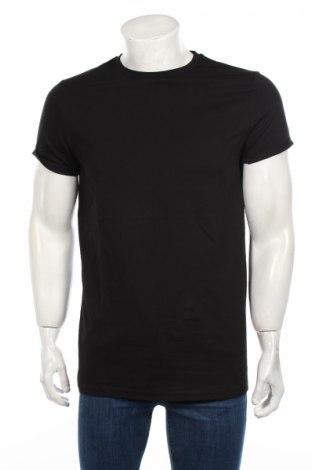 Tricou de bărbați ASOS, Mărime M, Culoare Negru, Bumbac, Preț 33,87 Lei