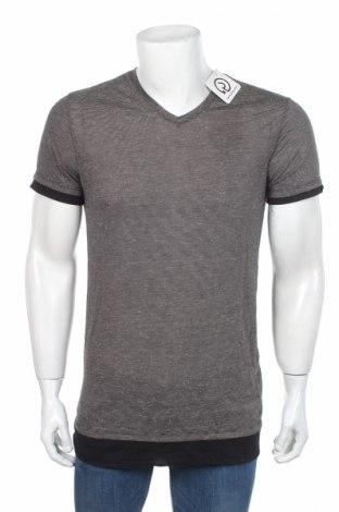 Мъжка тениска Guess, Размер M, Цвят Сив, Цена 32,86лв.