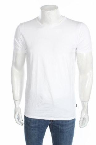 Мъжка тениска Salsa, Размер L, Цвят Бял, 95% памук, 5% еластан, Цена 20,14лв.