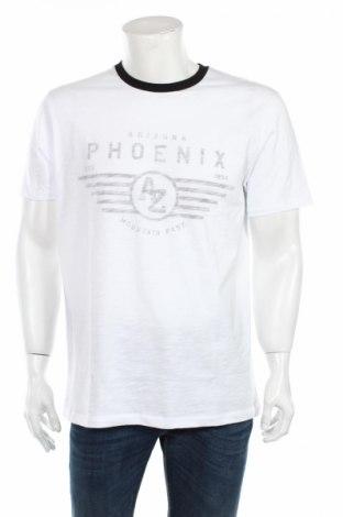 Мъжка тениска V by Very, Размер L, Цвят Бял, Памук, Цена 18,70лв.