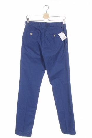 Мъжки панталон Hackett, Размер S, Цвят Син, Памук, Цена 20,85лв.