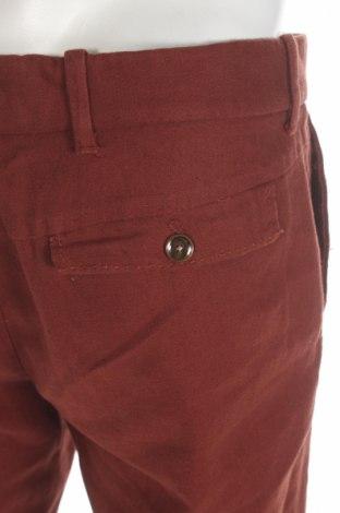 Мъжки панталон Mango, Размер M, Цвят Кафяв, 55% лен, 45% памук, Цена 51,75лв.