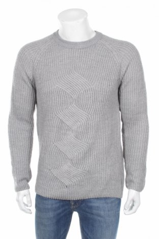 Pánsky sveter  Reserved, Veľkosť L, Farba Sivá, Akryl, Cena  28,35€