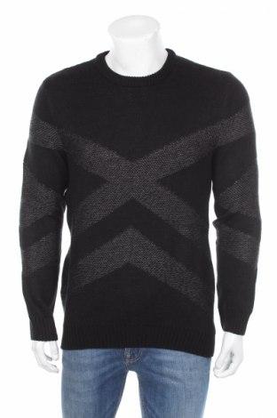 Ανδρικό πουλόβερ Reserved, Μέγεθος S, Χρώμα Μαύρο, Ακρυλικό, Τιμή 28,35€