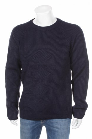 Pánsky sveter  Reserved, Veľkosť XL, Farba Modrá, Akryl, Cena  28,35€
