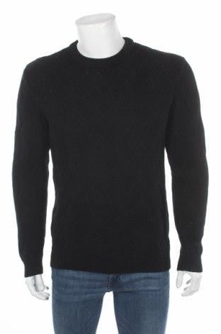 Ανδρικό πουλόβερ Reserved, Μέγεθος L, Χρώμα Μαύρο, Βαμβάκι, Τιμή 28,35€