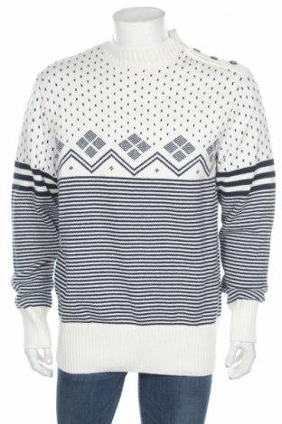 Pánsky sveter  Reserved, Veľkosť XL, Farba Biela, 60% bavlna, 30% polyamide, 10% vlna, Cena  28,35€